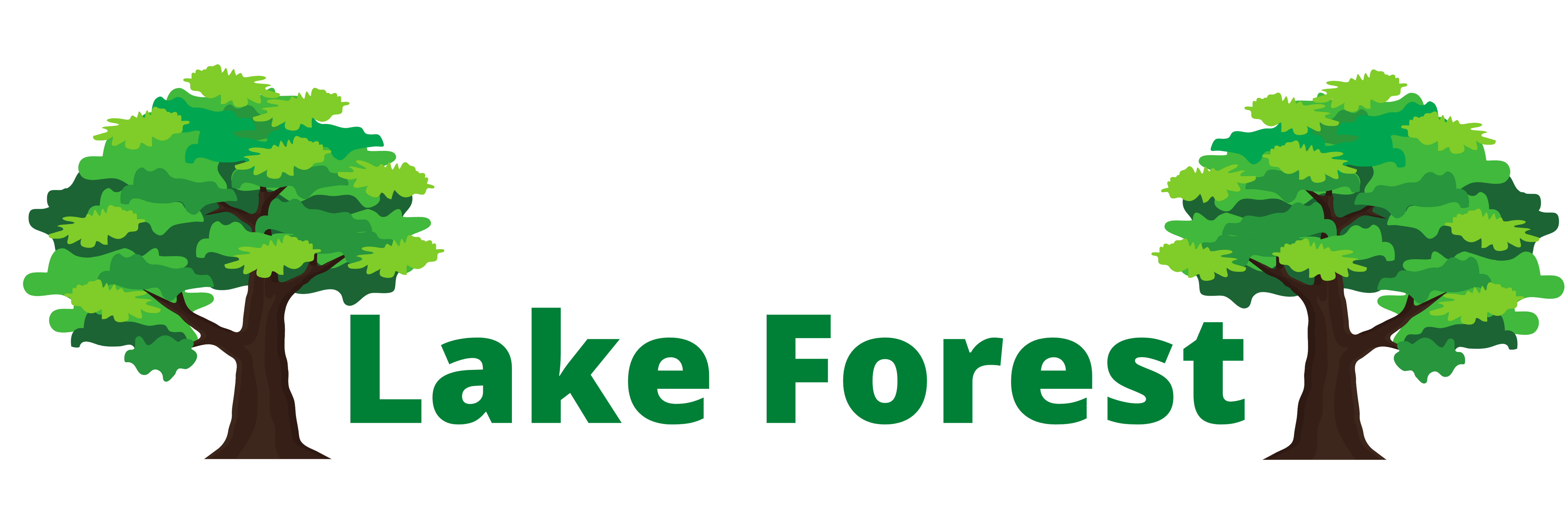 this image shows lake forest tree care