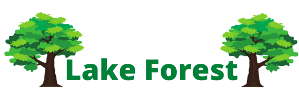 this image shows lake forest tree care logo